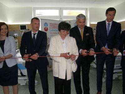 Levočská nemocnica otvorila prvé Oddelenie dlhodobej intenzívnej starostlivosti na východnom Slovensku