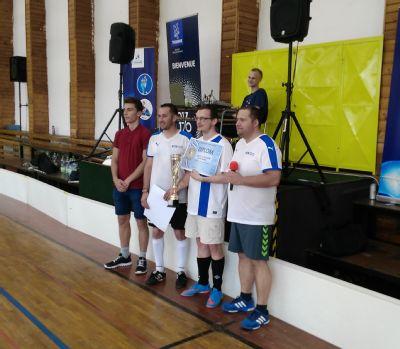 Levočskí zdravotníci zabodovali na florbalovom turnaji