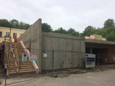 Výstavba nového urgentu v  levočskej nemocnici pokračuje podľa harmonogramu