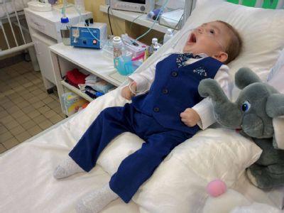 Na detskom oddelení v Levoči pripravili malému Samkovi  oslavu prvých narodenín