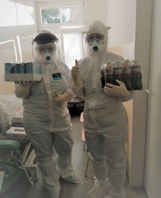 Levočská nemocnica dostala od spoločnosti SHELL dávku energie