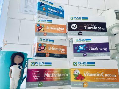 Lekáreň AGEL Levoča ponúka široký sortiment výživových doplnkov s obsahom vitamínov