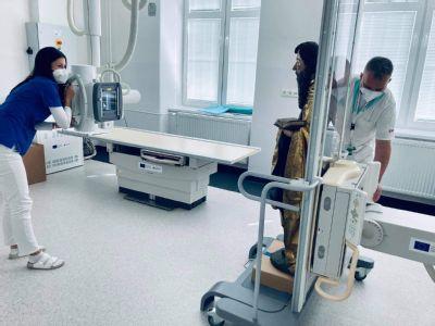 V levočskej nemocnici röntgenovali sochy z oltára