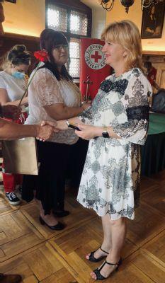 V Levoči oceňovali darcov krvi. Medzi nimi bola aj vedúca sestra detského oddelenia levočskej nemocnice.